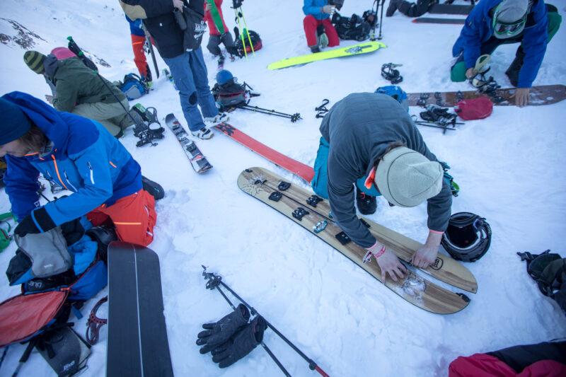 Cursus splitboarden en toerskiën