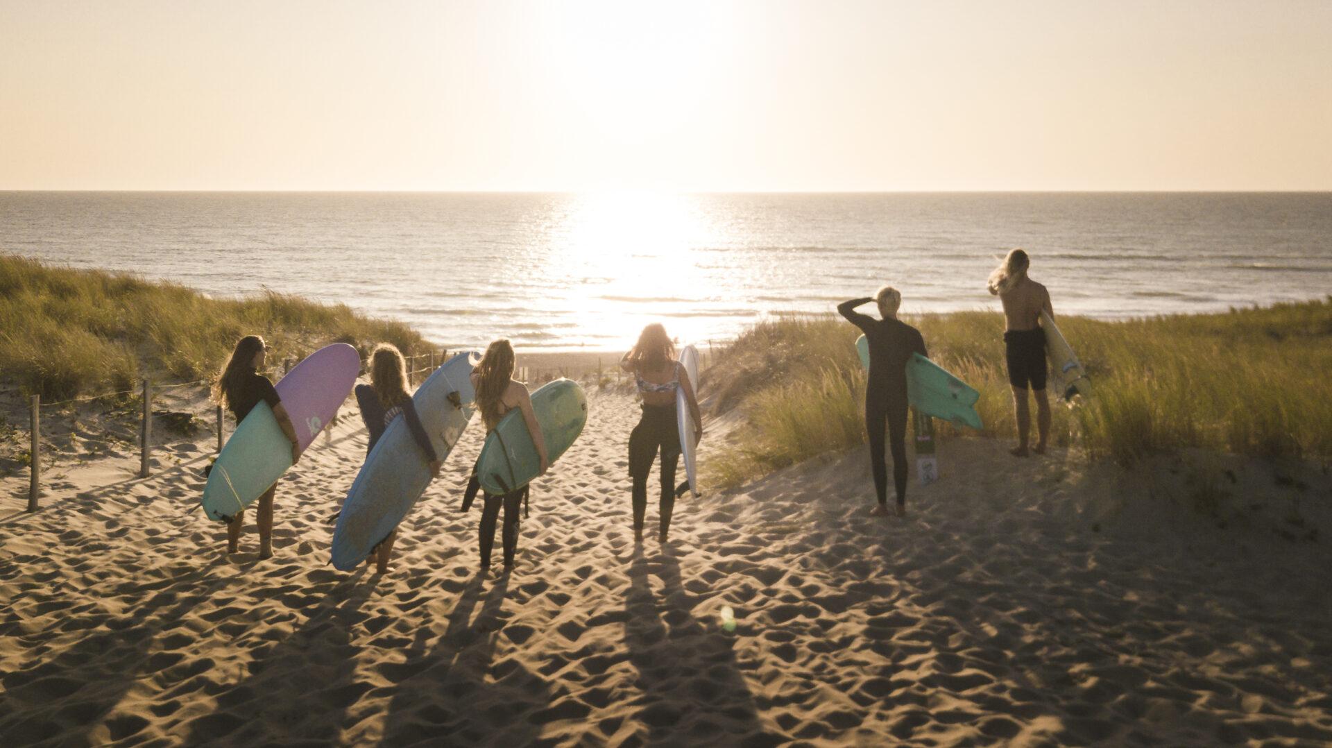 Leer surfen met Ripstar op surfcamp in Frankrijk!!