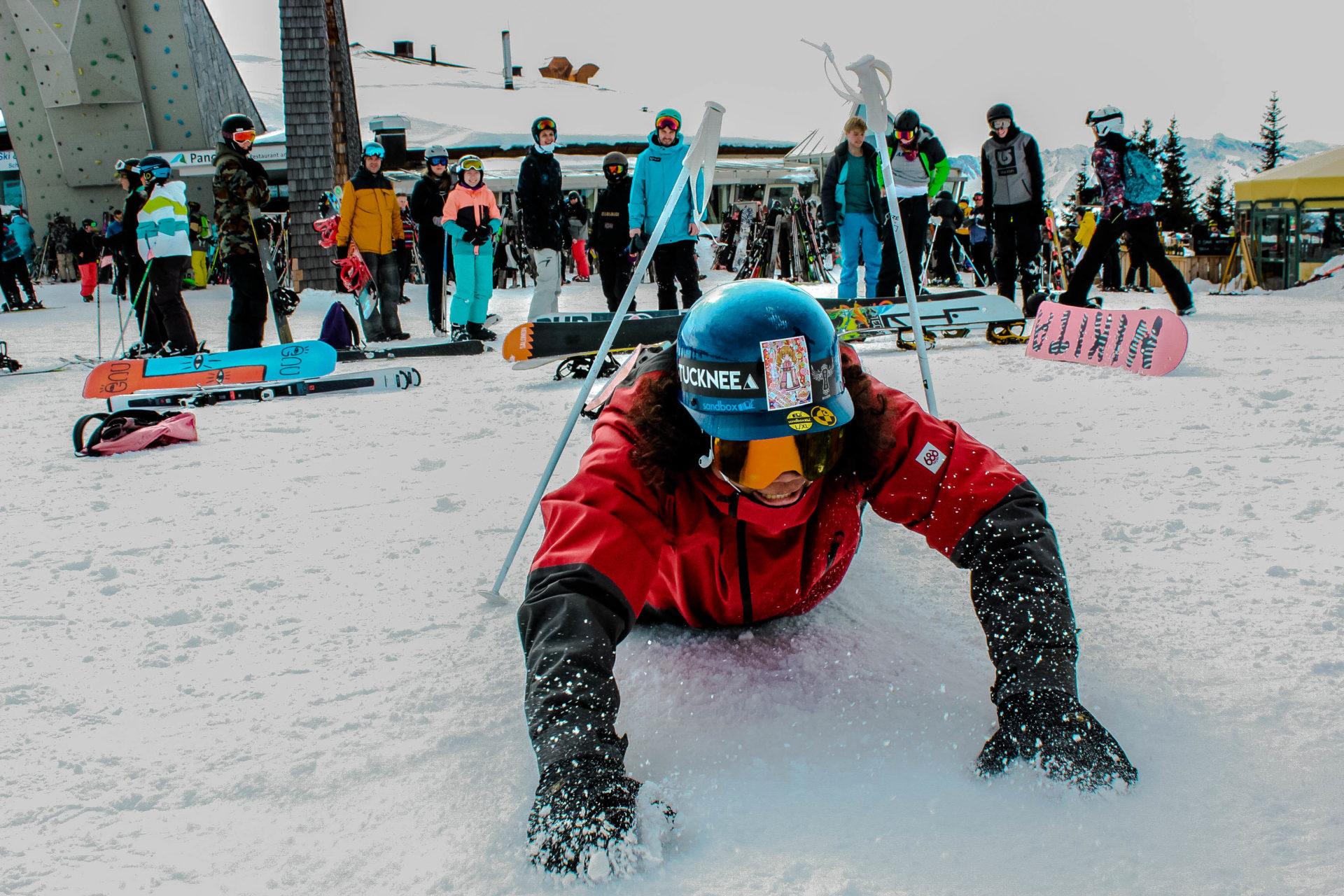 wintersport voor jeugd op de piste