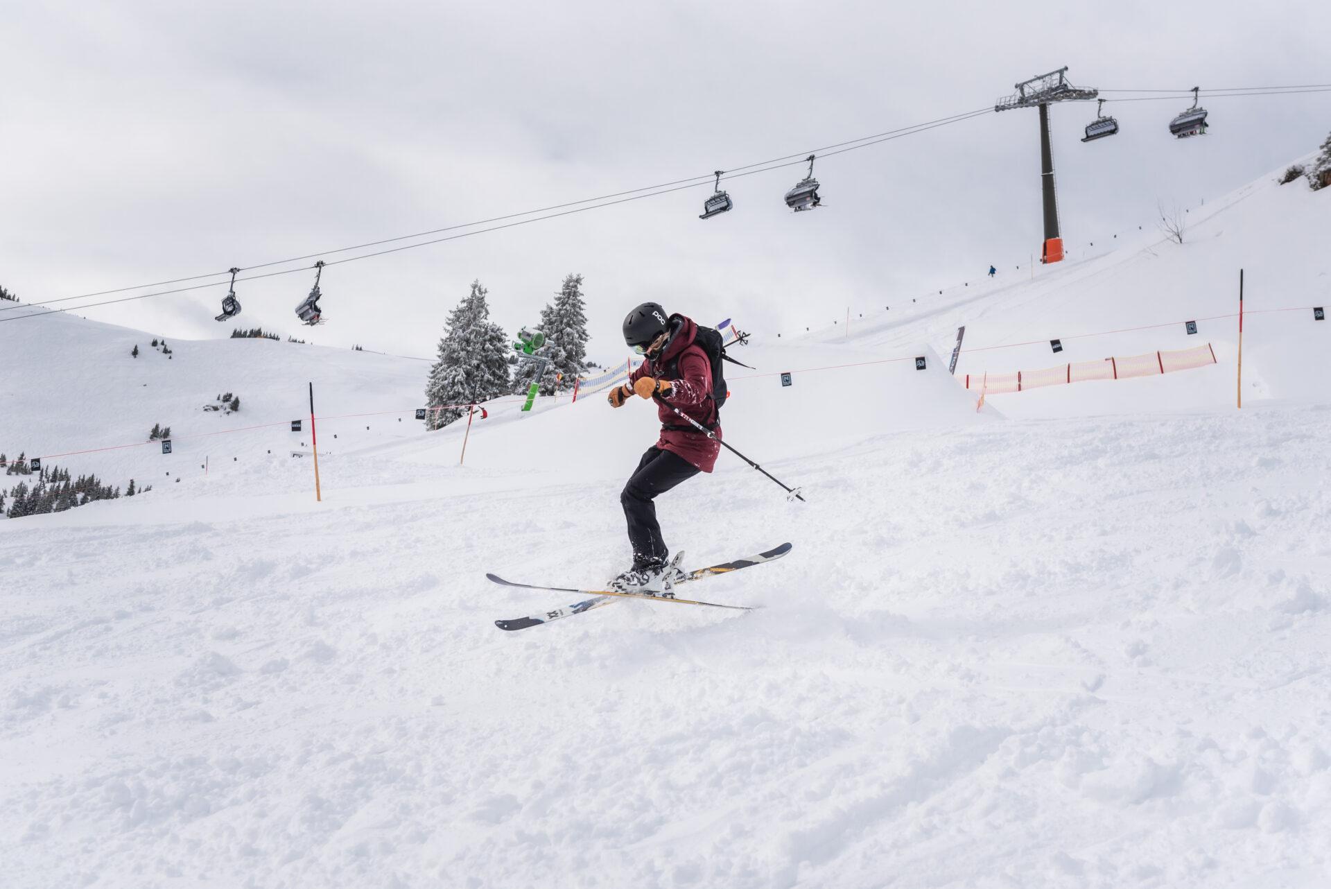 Jongeren wintersport in Zwitserland